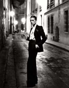 le smoking par Yves Saint Laurent