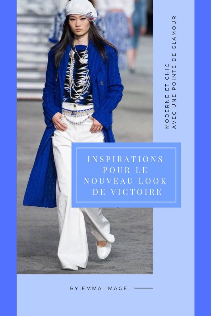 du bleu pour le nouveau style